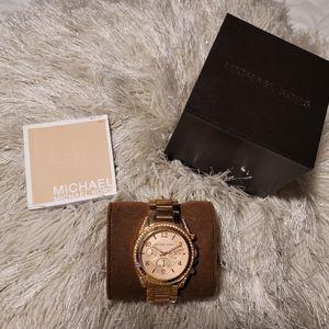 Michael Kors Ritz Rose Gold Watch